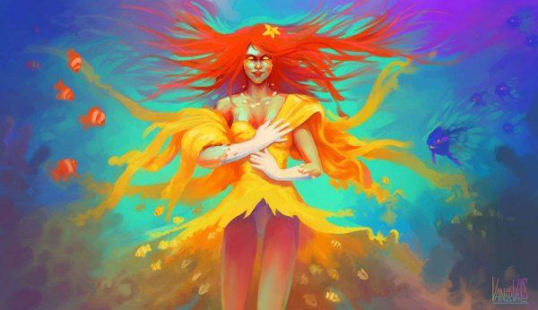 Caribdis la diosa de los océanos