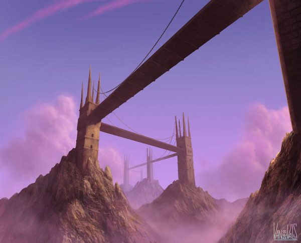 Puentes colgantes fantasía
