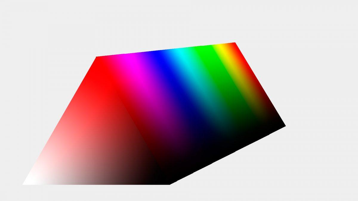 Prisma de color HSV