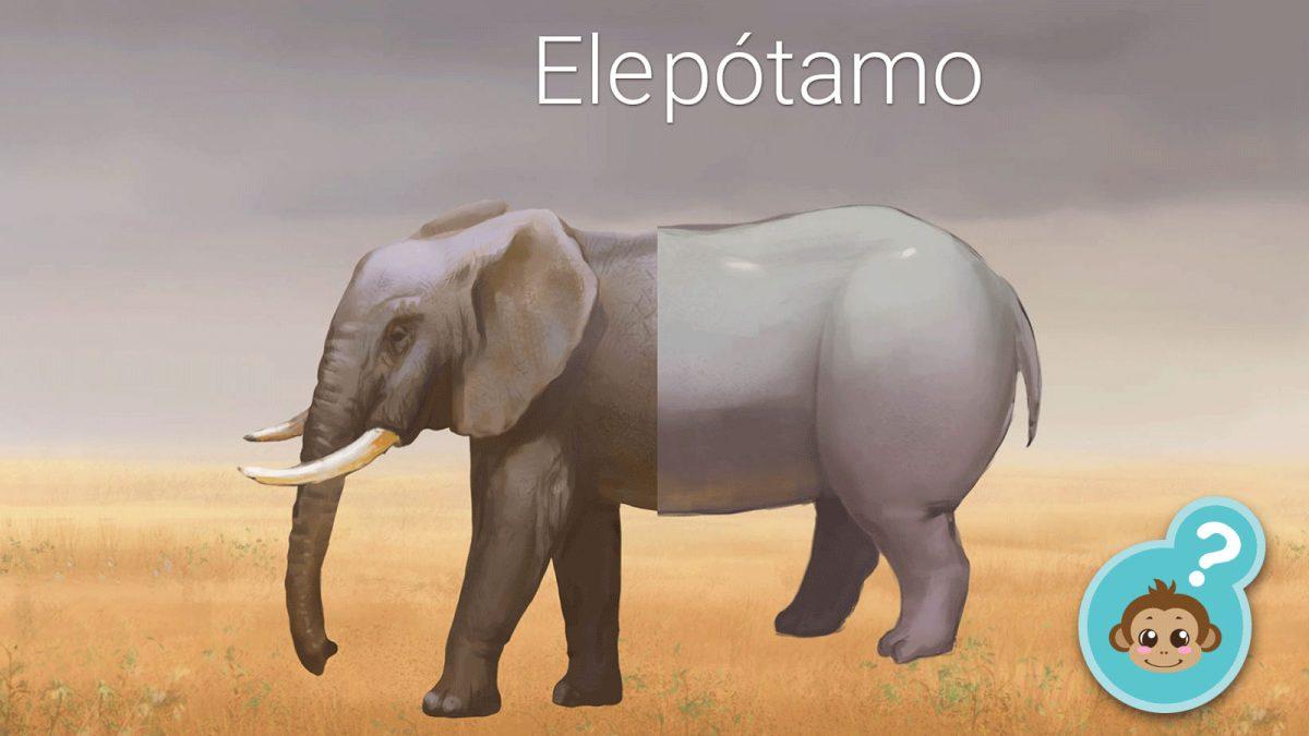 Imagen de un elepotamo